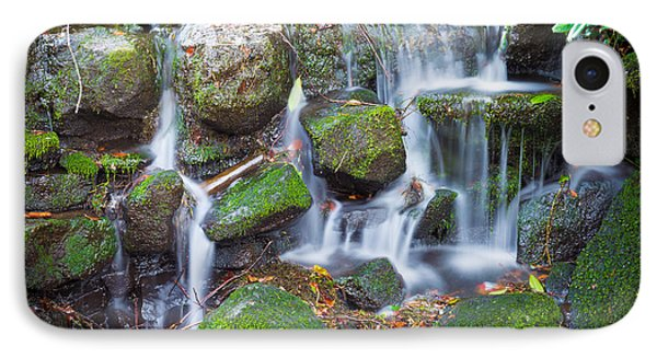 Waterfall In Marlay Park IPhone Case by Semmick Photo