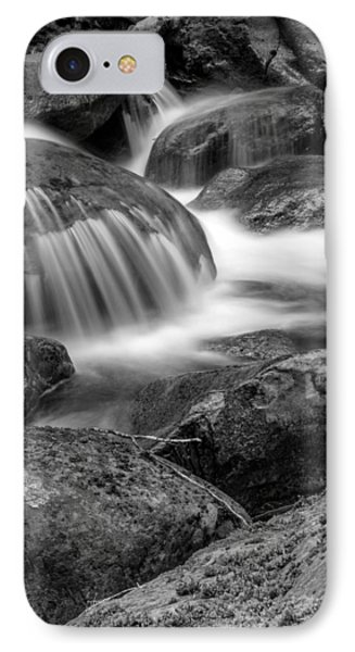 Waterfall In Mount Rainier National Park IPhone Case by Bob Noble Photography