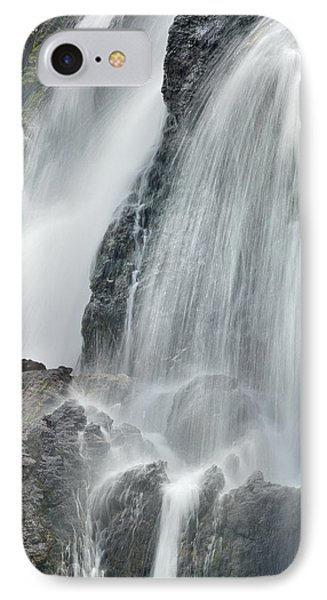 Waterfall In Spring Phone Case by Guido Montanes Castillo