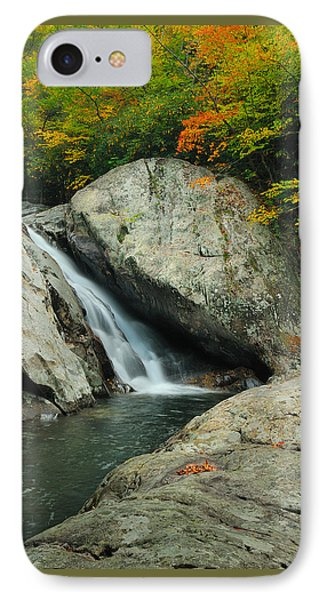 IPhone Case featuring the photograph Waterfall In West Fork Of Pigeon River by Photography  By Sai