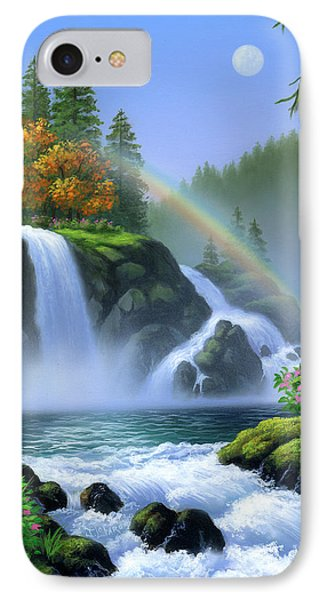 Waterfall Phone Case by Jerry LoFaro
