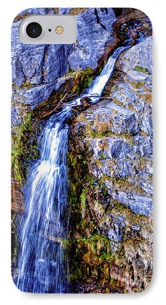Waterfall-mt Timpanogos IPhone Case