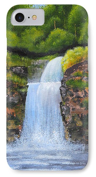 Waterfall IPhone Case by Nirdesha Munasinghe