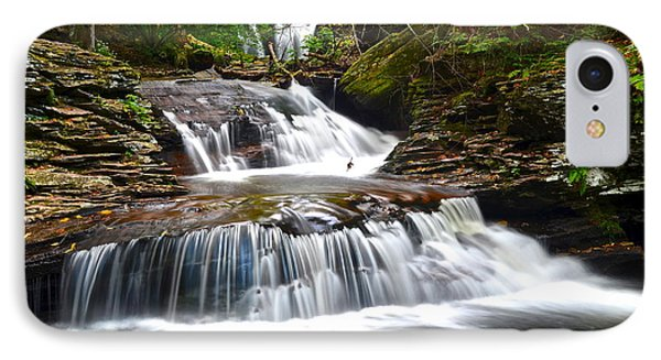 Waterfall Oasis Phone Case by Frozen in Time Fine Art Photography