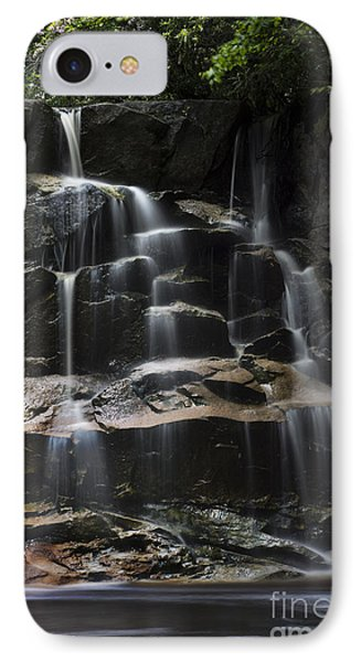 Waterfall On Small Stream Phone Case by Dan Friend