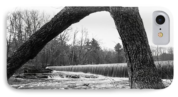 Waterfall On The Assabet IPhone Case by Mark Raymond
