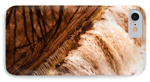 Waterfall On The Assabet River IPhone Case by Patrick Garner