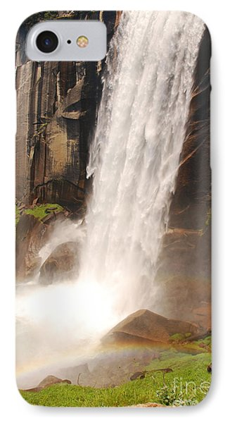 Waterfall Rainbow IPhone Case by Mary Carol Story