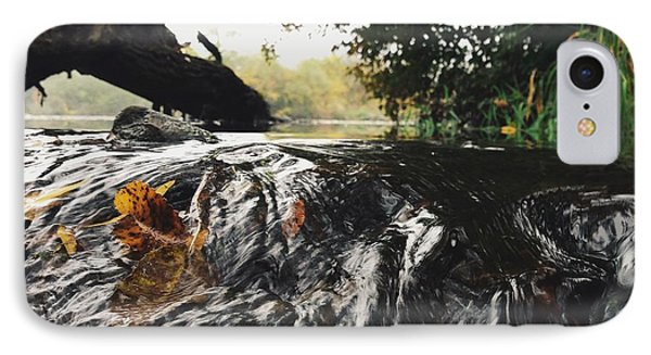 IPhone Case featuring the photograph Waterfalls Beginnning by Nikki McInnes