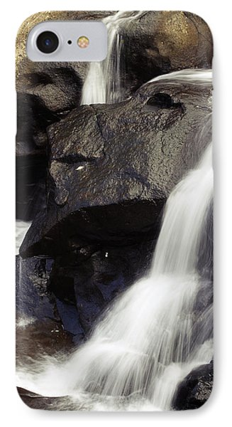 Waterfalls Phone Case by Les Cunliffe