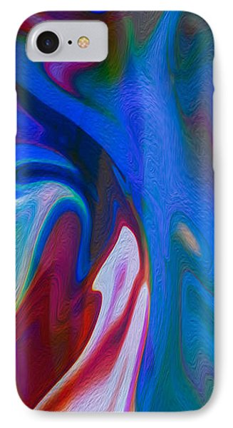 Waterfalls Of Desire Phone Case by Omaste Witkowski