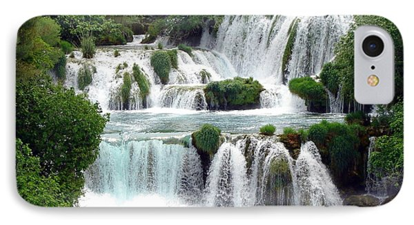 Waterfalls Of Plitvice IPhone Case