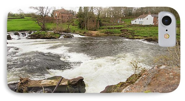 Waterfalls On The River Eden IPhone Case by Ashley Cooper
