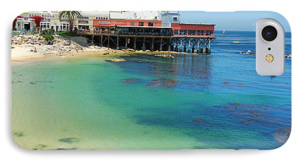 Waterfront At Cannery Row IPhone Case by Jonah  Anderson