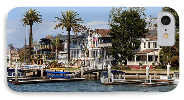Waterfront Luxury Homes In Orange County California Phone Case by Paul Velgos
