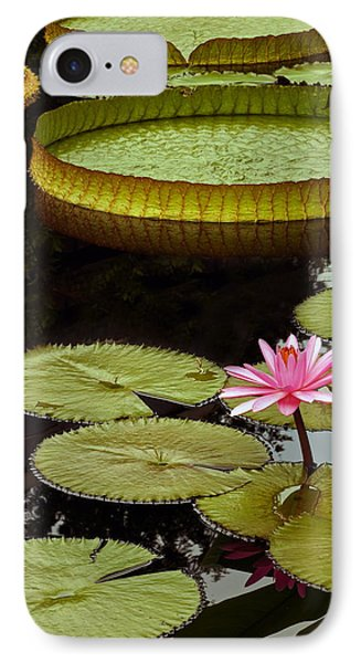 Waterlilies And Platters Vertical Romance IPhone Case
