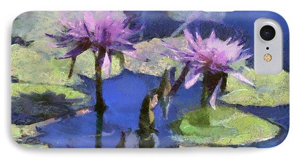 Waterlilies Phone Case by Teresa Zieba