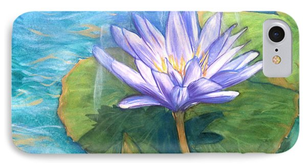 Waterlily 2 IPhone Case by Shelley Overton