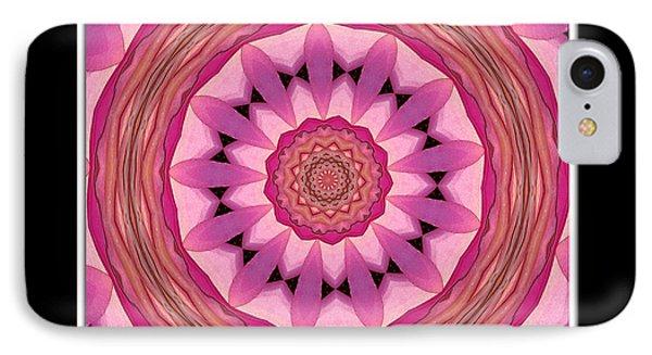 Waterlily Flower Kaleidoscope 3 IPhone Case by Rose Santuci-Sofranko