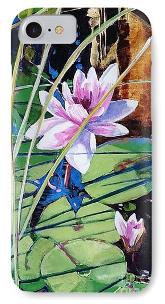 Waterlily IPhone Case by Kathy  Karas