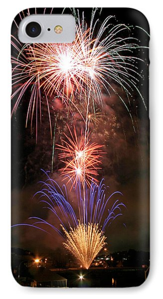 IPhone Case featuring the photograph Waterloo Fireworks by Christopher McKenzie