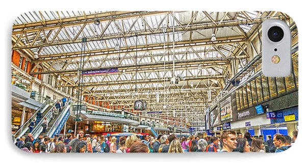 Waterloo Station IPhone Case by Andrew Middleton