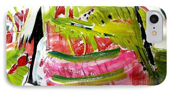 'watermelon' Phone Case by Carol Skinner