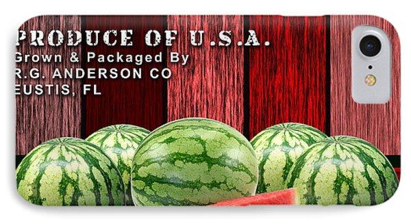 Watermelon Farm IPhone Case by Marvin Blaine