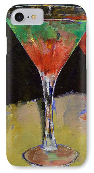 Watermelon Martini IPhone 7 Case by Michael Creese