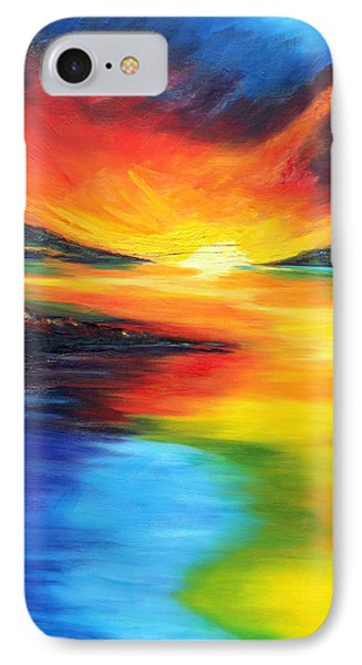 IPhone Case featuring the painting Waters Of Home by Meaghan Troup