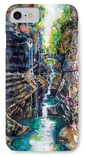 Watkins Glen Gorge IPhone Case by Patricia Allingham Carlson