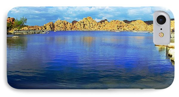 Watson Lake #2 Phone Case by Richard Henne