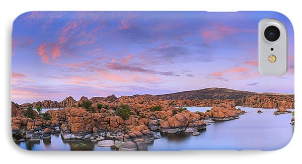 Watson Lake In Prescott - Arizona IPhone Case by Henk Meijer Photography
