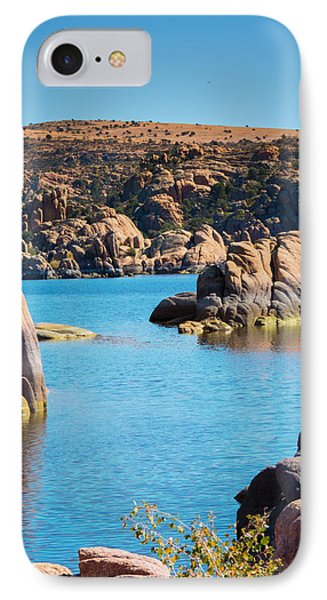 Watson Lake In The Fall Phone Case by Diane Wood
