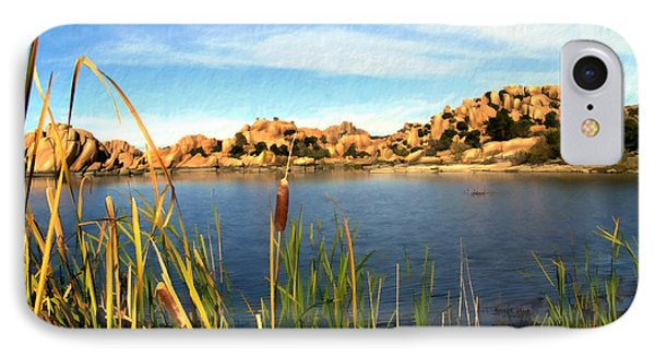 Watson Lake Phone Case by Kurt Van Wagner