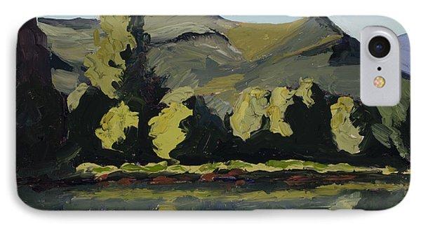 Watson Lake IPhone Case by Mary Giacomini