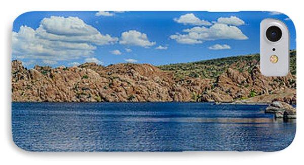 Watson Lake Panorama 1 IPhone Case