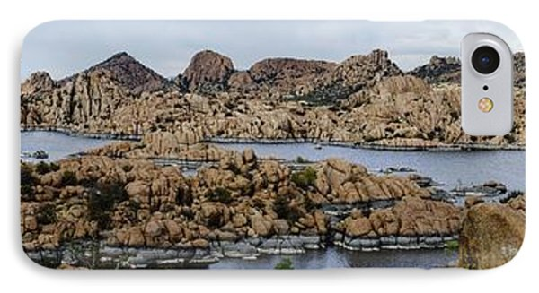 Watson Lake IPhone Case by Richard Henne