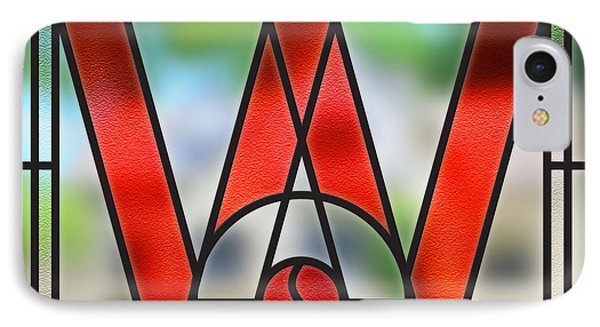 Wauwatosa Stain Glass IPhone Case