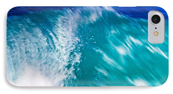 Wave 01 IPhone Case by Edgar Laureano