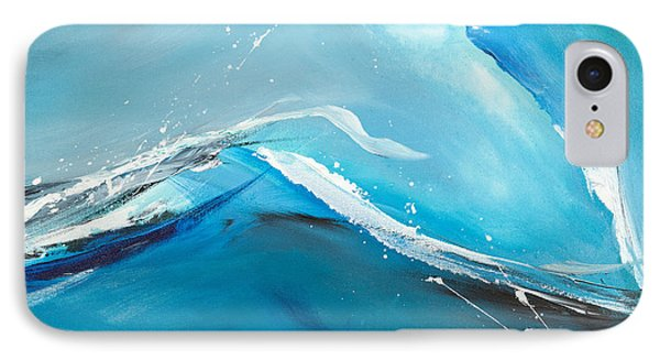 Wave Action IPhone Case by Michelle Wiarda