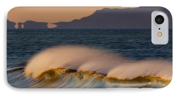 IPhone Case featuring the photograph Wave And Island 73a5281 by David Orias