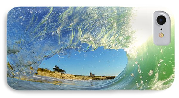 Wave And Lighthouse 3 IPhone Case