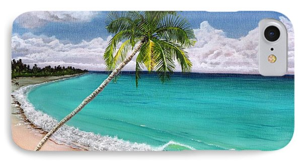 Wave Break Beach IPhone Case by Kevin F Heuman