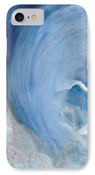 Wave Break IPhone Case by Heather  Hiland