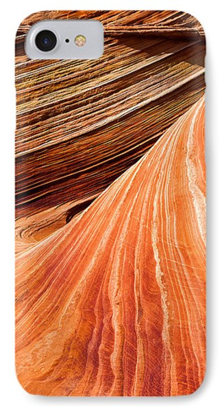 Wave Lines Phone Case by Chad Dutson