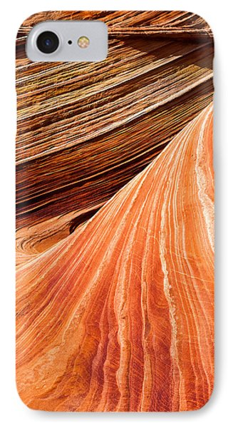 Wave Lines IPhone Case by Chad Dutson