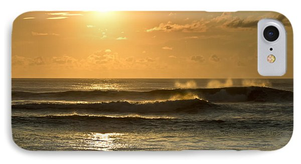 Waves Of Life IPhone Case by Skip Tribby