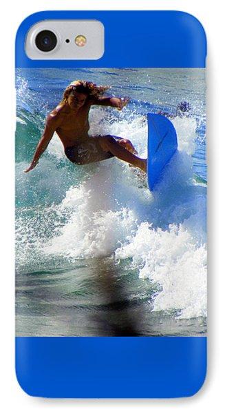 Wave Rider Phone Case by Karen Wiles