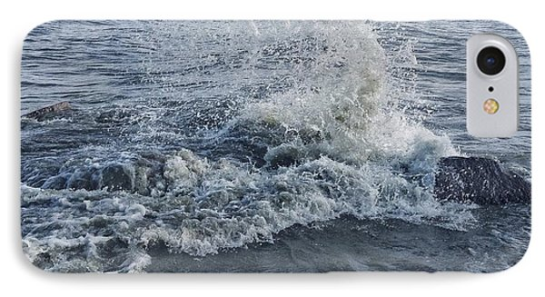 IPhone Case featuring the photograph Wave Splash by Nikki McInnes